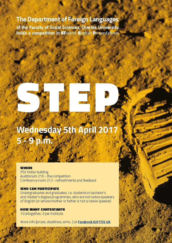 STEP plakát